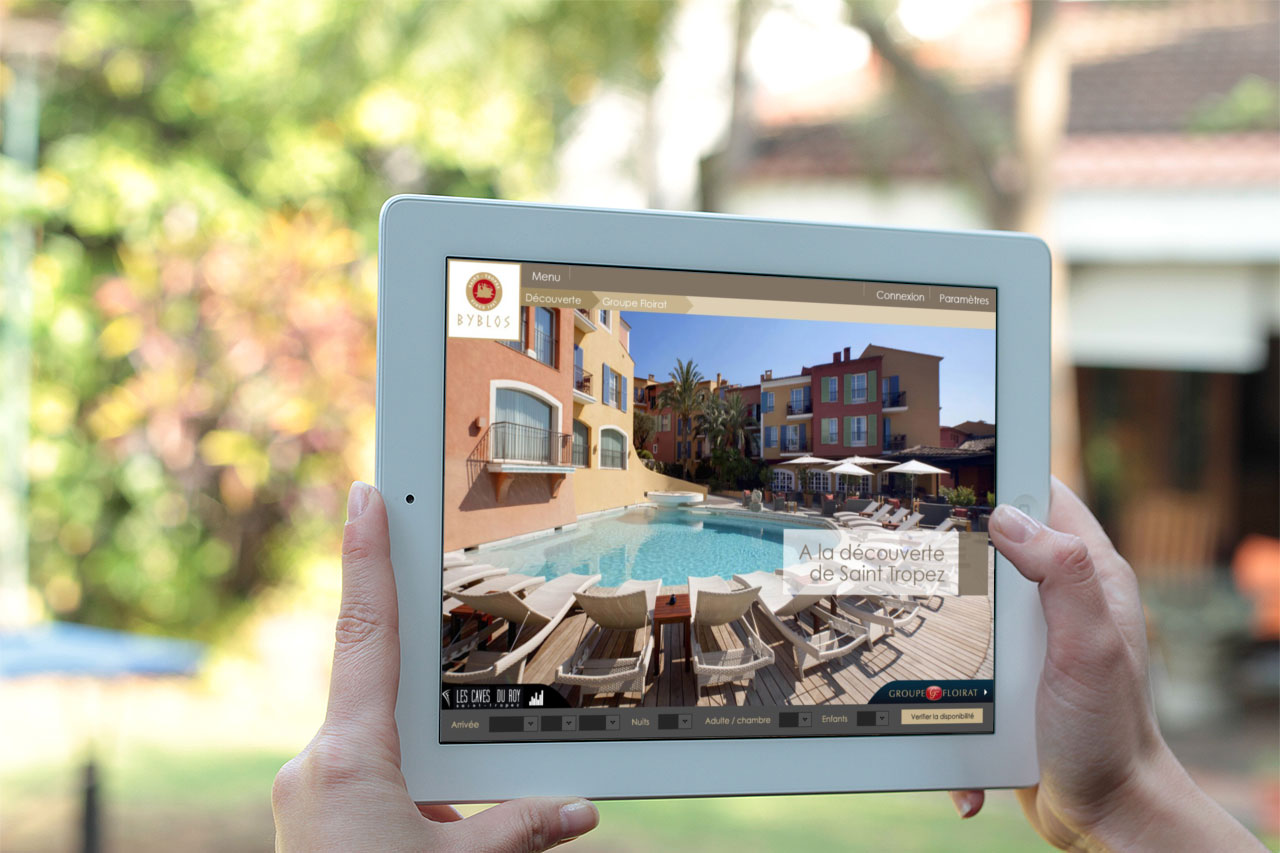 application ipad iphone palace byblos conciergerie