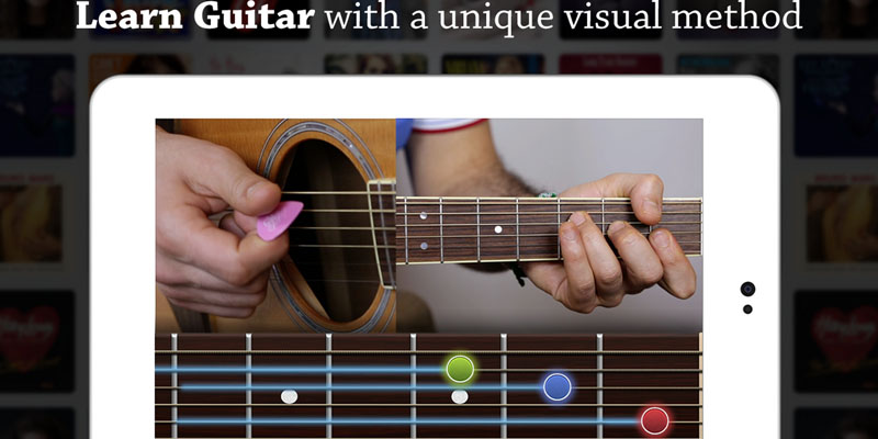 Développement Application android Coach Guitar apprendre la guitare