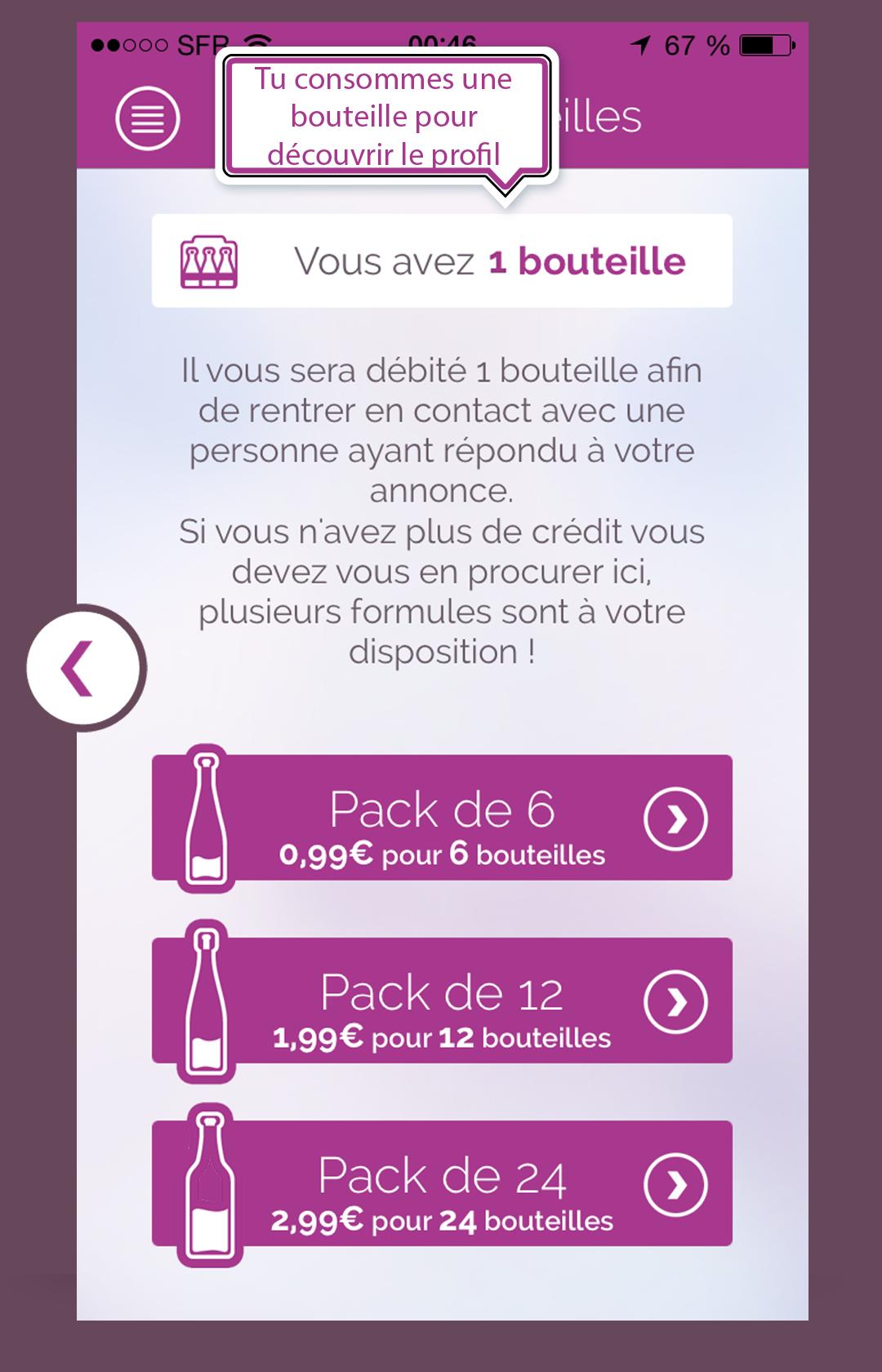 Application iPhone Teaz service de petites annonces gratuites localisées